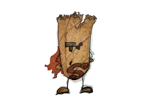 Paperbag Superheroes by Berksenturk