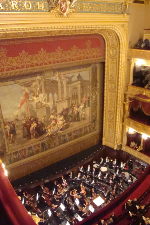 And then we saw Tosca at the Czech National Theatre for under three dollars.
