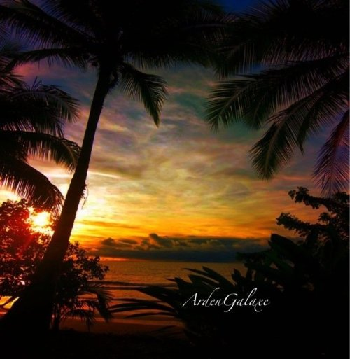 Sunset in Hawaii#sunset #sunshine #nature #sky #clouds #streamzoo #photography #iPhoneography #Hawaii #iphonesia(from @ArdenGalaxe on Streamzoo)