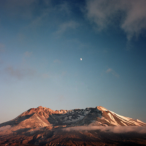 framable:  the moon serenades the mountain (by manyfires)