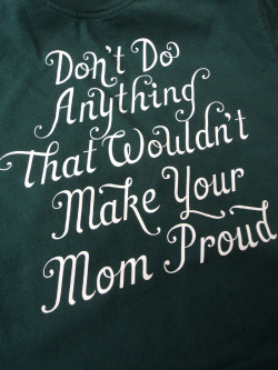 'Don't do anything that wouldn't make your mom proud'  Pieter Ceizer PL Clothing / Pimpalicious Living