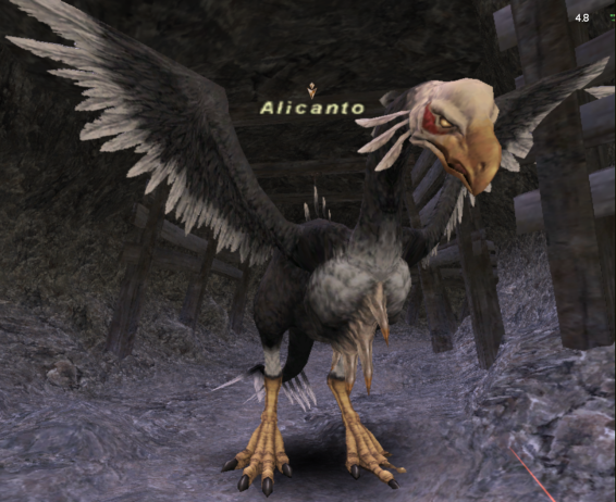 An Alicanto seen in Final Fantasy XI.