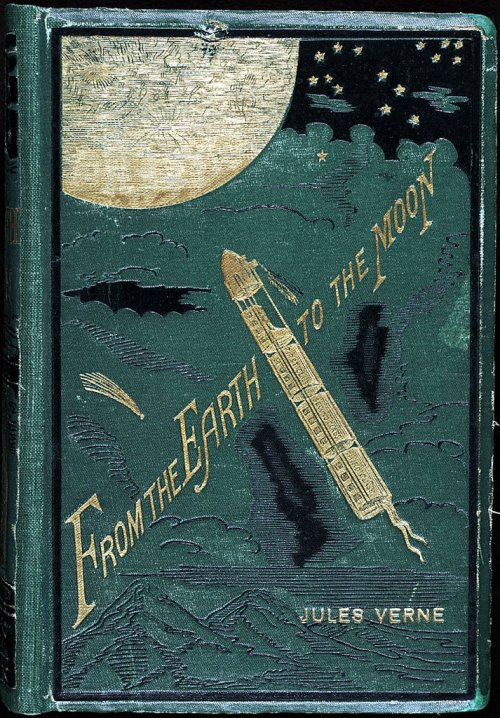 the-rx:  From the Earth to the Moon Jules Verne