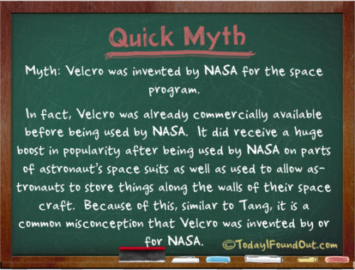 quantumaniac:  NASA Myth.   interesting