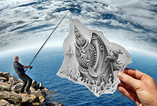 Pencil Vs Camera - 59 (by Ben Heine)