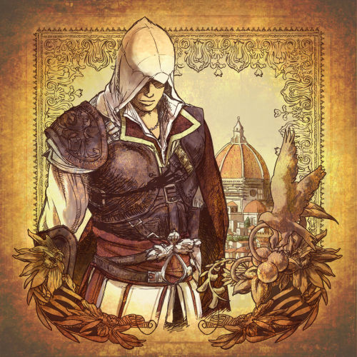 kirauser:  Ezio Auditore by: ひのえ@5/4 西2 X-2a