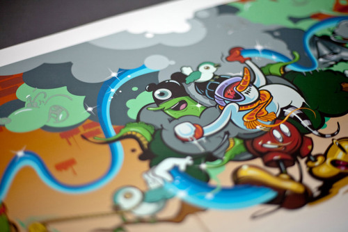 the836r:  DABS, MYLA, GREG SIMKINS , RIME print project.