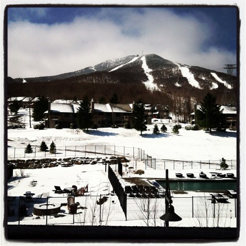 Beautiful morning at @jaypeakresort! (Taken with instagram)