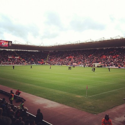 COME ON YOU SAINTS (Taken with instagram)