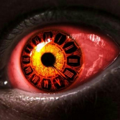 Is your time up…? #time #eye #evil #theend #timesup (Taken with instagram)