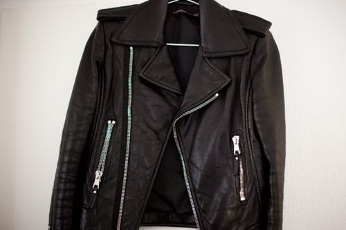 vogue-rogue:  i really really want a leather jacket :o