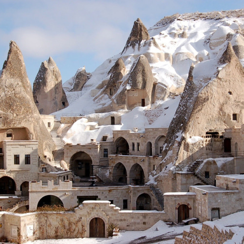 Fairy Chimney Hotel @ Göreme, Turkey