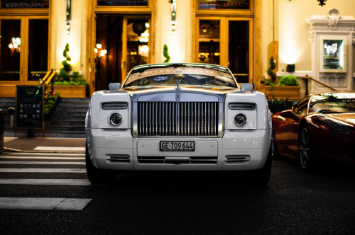 Rolls-Royce Phantom Drophead Coupe in Monaco. Photo by nistphotography.