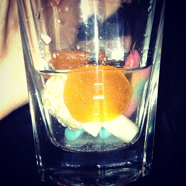 MY NEW VODKA MIX (Taken with instagram)