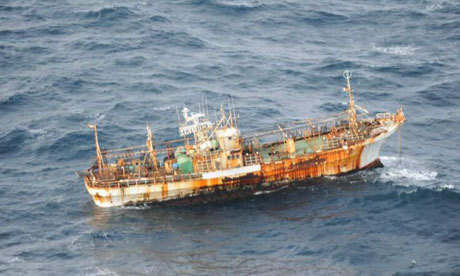 The ghost ships that haunt the oceans A Japanese fishing boat has been found adrift more than a year after it was lost. It's not the only lonely vessel on the seas
