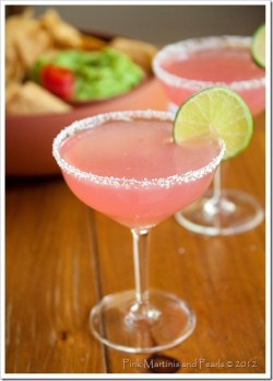 nauticalwheeler:  this looks way too yummy!  Prickly Pear Margarita