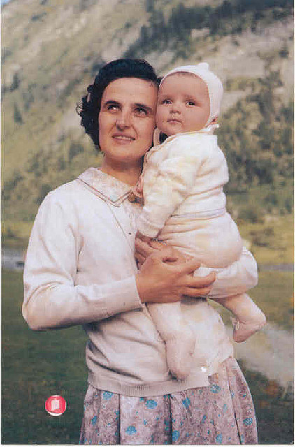 "Happy Feast of St. Gianna Beretta Molla! Here are some excerpts of her biography from the website of St. Gianna Parish in Wentzville, Missouri. Gianna Beretta was born in Magenta (Milan) October 4, 1922. Already as a youth she willingly accepted the gift of faith and the clearly Christian education that she received from her excellent parents. As a result, she experienced life as a marvelous gift from God, had a strong faith in Providence and was convinced of the necessity and effectiveness of prayer.She diligently dedicated herself to studies during the years of her secondary and university education, while, at the same time, applying her faith through generous apostolic service among the youth of Catholic Action and charitable work among the elderly and needy as a member of the St. Vincent de Paul Society. After earning degrees in Medicine and Surgery from the University of Pavia in 1949, she opened a medical clinic in Mesero (near Magenta) in 1950. She specialized in Pediatrics at the University of Milan in 1952 and there after gave special attention to mothers, babies, the elderly and poor.While working in the field of medicine-which she considered a ""mission"" and practiced as such-she increased her generous service to Catholic Action, especially among the ""very young"" and, at the same time, expressed her joie de vivre and love of creation through skiing and mountaineering. Through her prayers and those of others, she reflected upon her vocation, which she also considered a gift from God. Having chosen the vocation of marriage, she embraced it with complete enthusiasm and wholly dedicated herself ""to forming a truly Christian family"".She became engaged to Pietro Molla and was radiant with joy and happiness during the time of their engagement, for which she thanked and praised the Lord. They were married on September 24, 1955, in the Basilica of St. Martin in Magenta, and she became a happy wife. In November 1956, to her great joy, she became the mother of Pierluigi, in December 1957 of Mariolina; in July 1959 of Laura. With simplicity and equilibrium she harmonized the demands of mother, wife, doctor and her passion for life. … Gianna wanted to have a big family. She and Peter had a son, Pierluigi, then two daughters, Mariolina and Laura, followed by two miscarriages. In the summer of 1961 Gianna became pregnant with another child. Within two months, however, the young mother developed a large, painful uterine tumor that threatened her life and that of her developing baby. The surgeon suggested that she have an abortion or a hysterectomy—the latter, of course, would also have killed the child—in order to save her own life. Gianna opted instead for a riskier surgery that would simply remove the tumor to protect the baby while leaving her own life at risk. The operation was successful in preserving the life of the child. But as the months of her pregnancy continued, Gianna had a premonition of what was to come. She was ready to sacrifice her life so that her child could live. A few days before the baby was due, she told her husband: ""If you must decide between me and the child, do not hesitate: Choose the child; I insist on it. Save the baby!""On Holy Saturday, 1962, after a Caesarian section, Gianna gave birth to a healthy baby girl weighing nearly 10 pounds. The child was named Gianna as well. (Today, ""little"" Gianna is also a medical doctor, a gerontologist.) That same day, the mother's condition began to deteriorate. She was dying of septic peritonitis, an infection of the lining of the abdomen—a result of her choice to preserve the life of her child. Gianna died a week later on April 28, 1962 (now her feast day)."