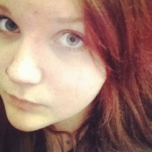 I'm officially a ginger biscuit now. (Taken with instagram)