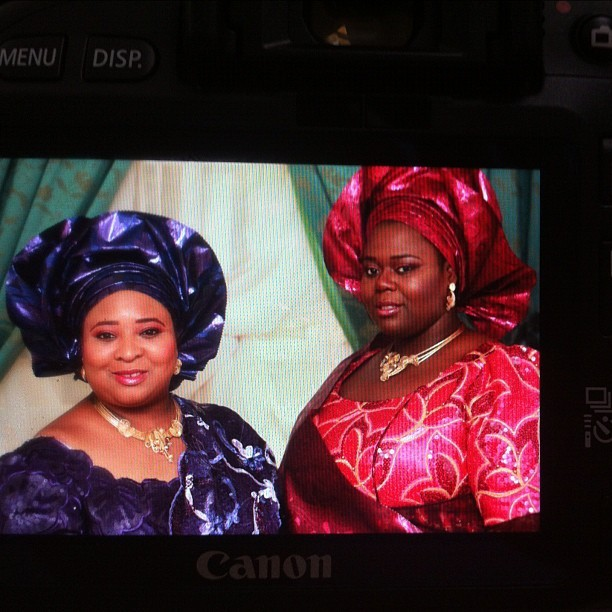 Day 3- my beautiful brides #sisters #work #makeup #kaduna #bride  (Taken with instagram)