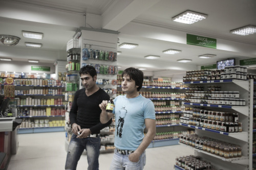 Shopping for energy drinks at Finest Supermarket in Kabul. Photo: Sandra Calligaro The war in Afghanistan is not over. Help us tell the story. Fund our Kickstarter.