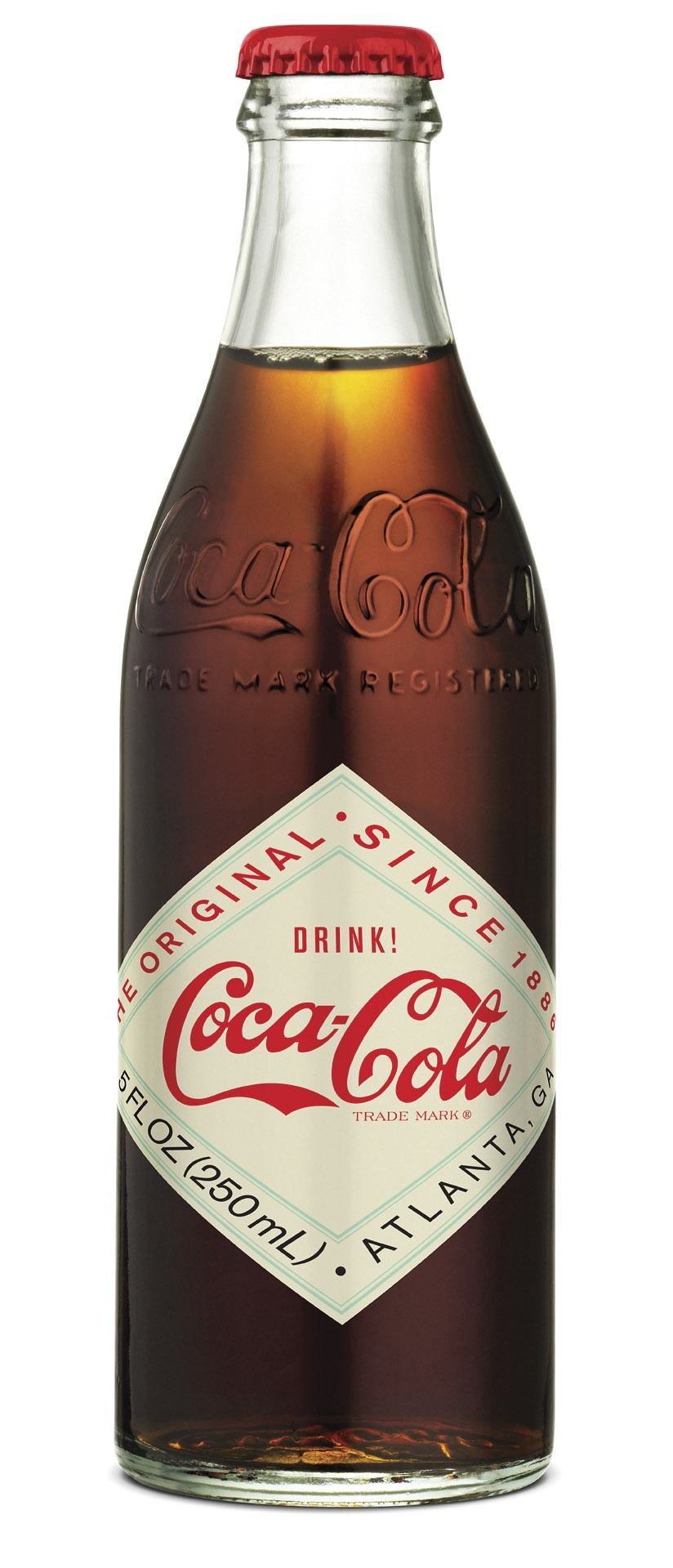 "patternsofairytales:  …..Vintage 1906 ""Diamond Label"" Coca-Cola Bottle….."