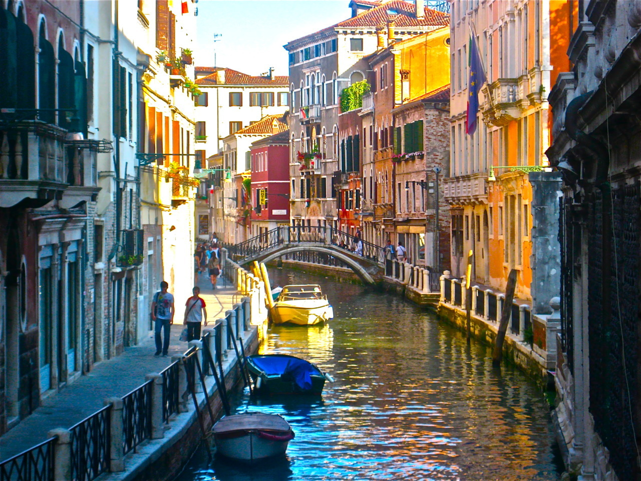 Beauty, beauty, joy, joy! Photo of Venice in all its glory, by me.