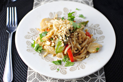 foodopia:  vegetable pad thai: recipe here