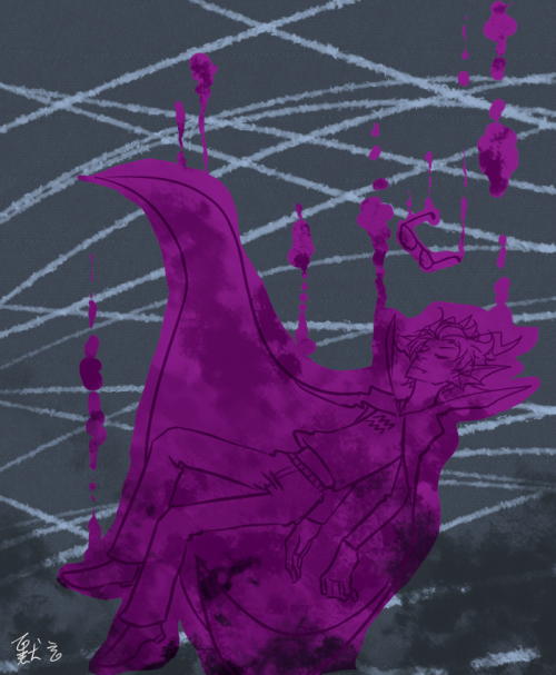 richie-manaka:  just wanted to paint…..a doodle…. 『….goodbye…..eridan……….』
