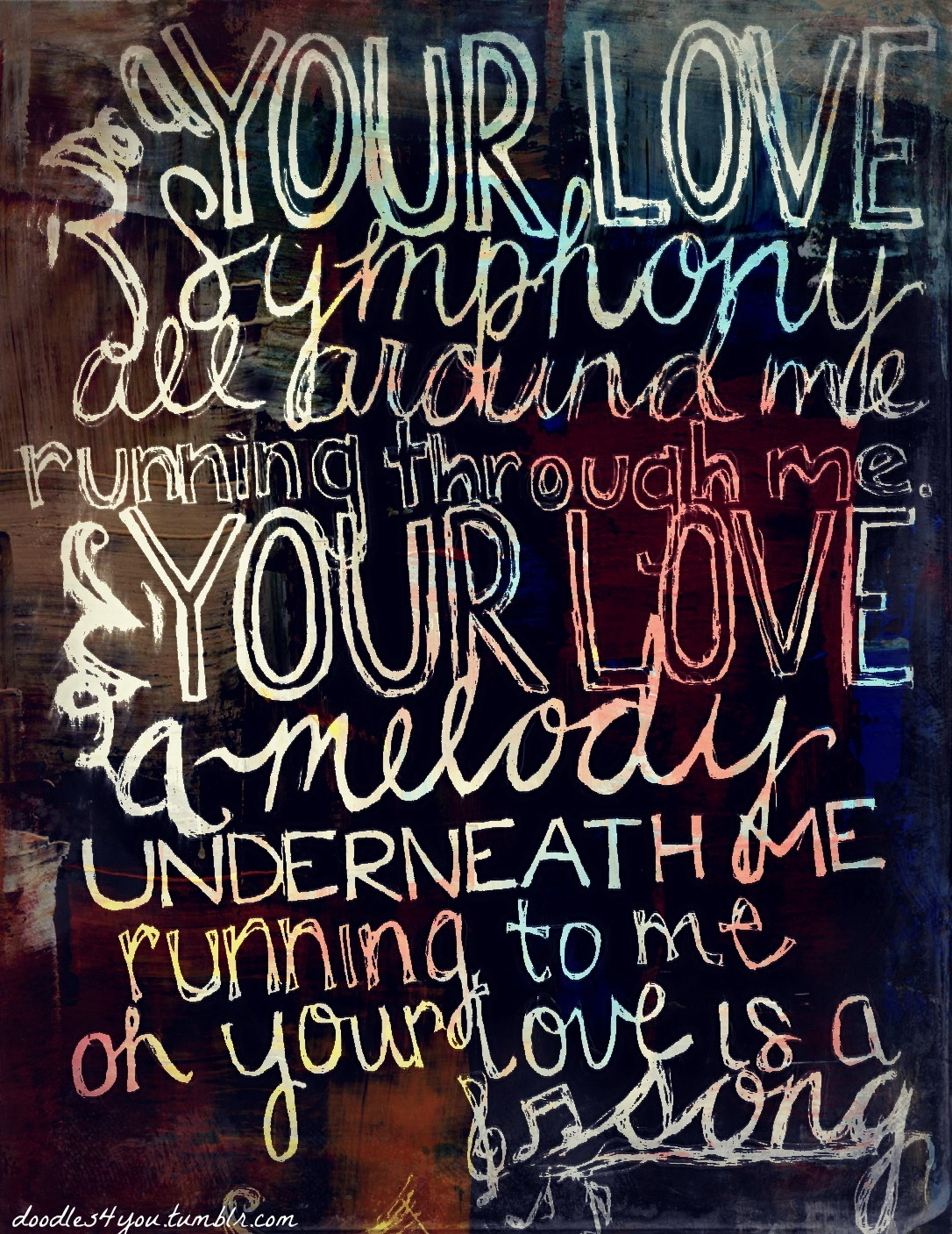 doodles4you:  your love is a song - switchfoot