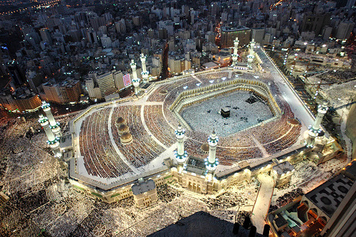 """They say New York city never sleeps, have they seen Makkah?"""