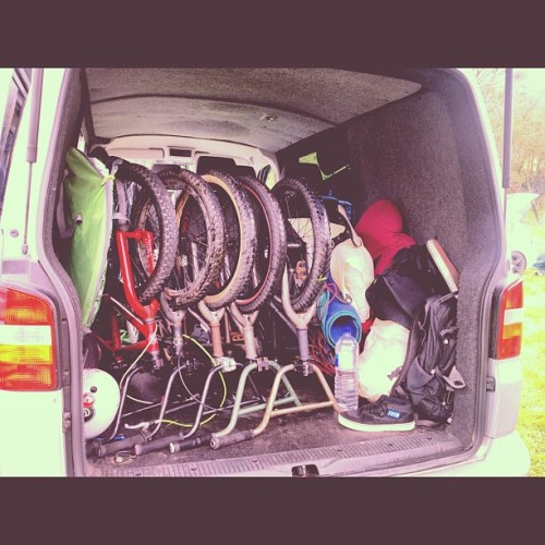 ilovethewoods:  #bmx #roadtrip (Taken with instagram)