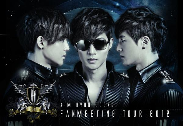 doubles501:  Kim Hyun Joong's official 2012 Asian fan-meeting tour banner
