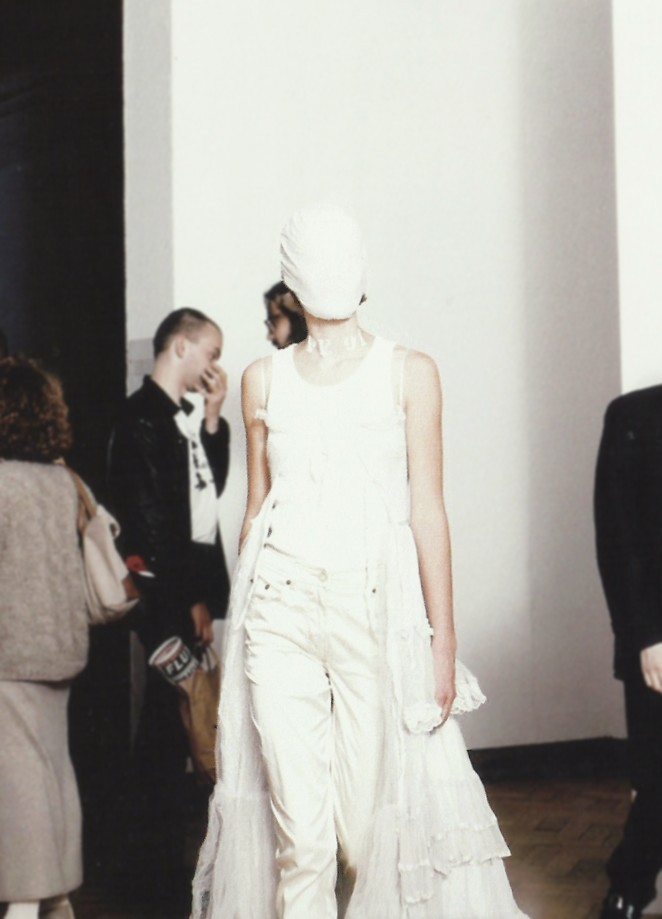 petrole:  maison martin margiela exhibition, palais des beaux-arts, brussels, 1996