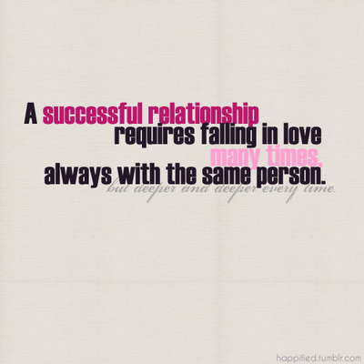 bestlovequotes:  A successful relationship requires falling in love many times with same person | FOLLOW BEST LOVE QUOTES ON TUMBLR  FOR MORE LOVE QUOTES
