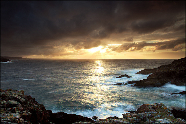 Strathy Point Towards Cape Wrath by angus clyne on Flickr.