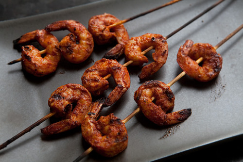 sp00nful:  smoky paprika shrimp skewers