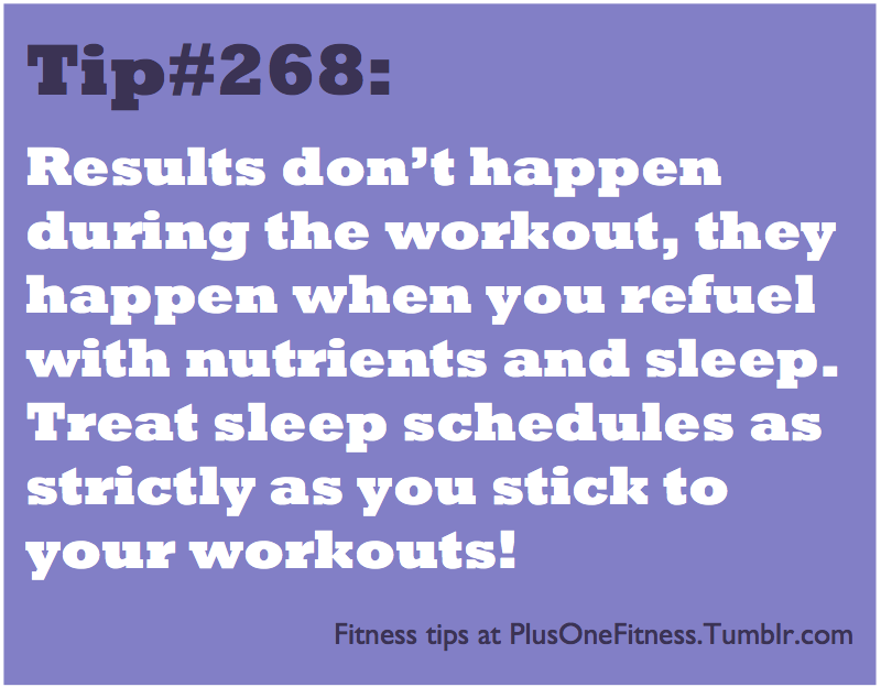plusonefitness:  Fitness tip #268