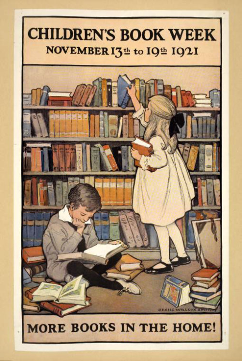 Book Week Poster for Children's Book Week by Jessie Willcox Smith - Source