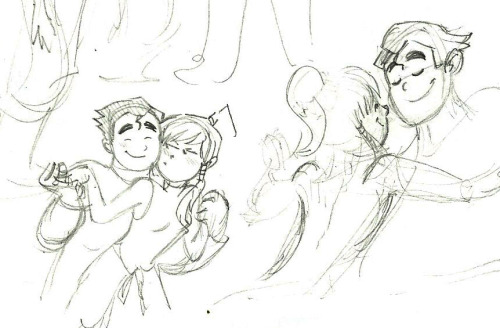 aishaloveschoclate:  blurg. I can't draw faces from that angle. sorry, Korra.