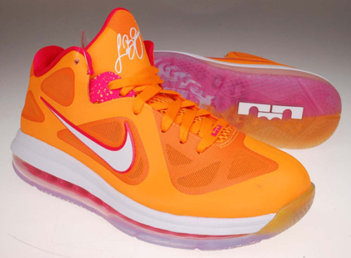 'Miami Floridian' Nike LeBron 9 LowVivid Orange/Cherry510811-80005/05/12$150