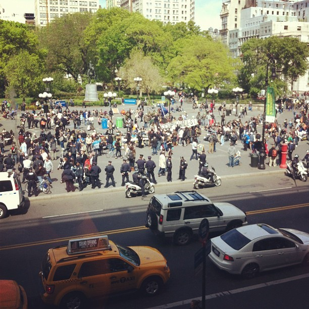 #ows union sq (Taken with instagram)