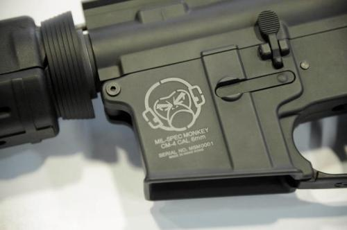 MilSpec Monkey has a lower receiver in production. this I think is BADASS.