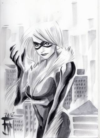 emeraldtempest:  Black Cat by Francis Manapul