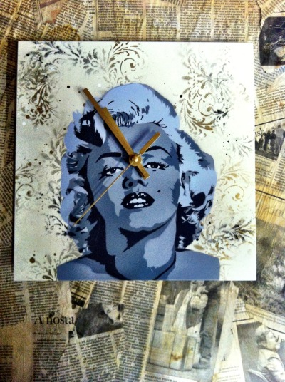 The Monroe time piece.