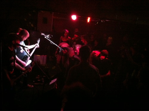 Just got home from playing a show with Perth punk band, the Chainsaw Hookers. Awesome band, great people. The show was fantastic and the crowd was wonderful. We had so much fun and everyone seemed to have enjoyed it. The Pony bar was quite full which was good to see. So many people out and about at 2am. Thankyou to everyone who came out and rocked with us. I realised once again just how much I love doing what we do and this whole playing live thing. Now, bedtime!