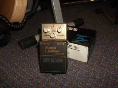 For any gearheads out there, I am selling my Boss LM- 2B. Great pedal, but I simply don't use it anymore. Click the photo to go to the ebay page.