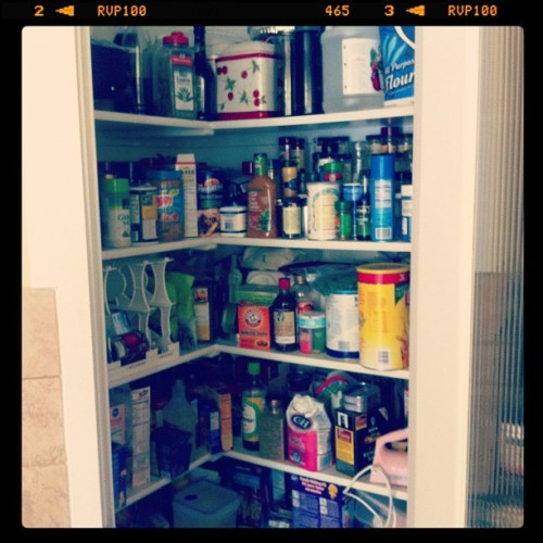 My pantry… Before (Taken with instagram)