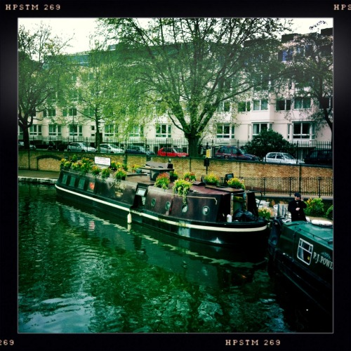 As a child I used to go canoeing at Little Venice… John S Lens, Pistil Film, No Flash, Taken with Hipstamatic