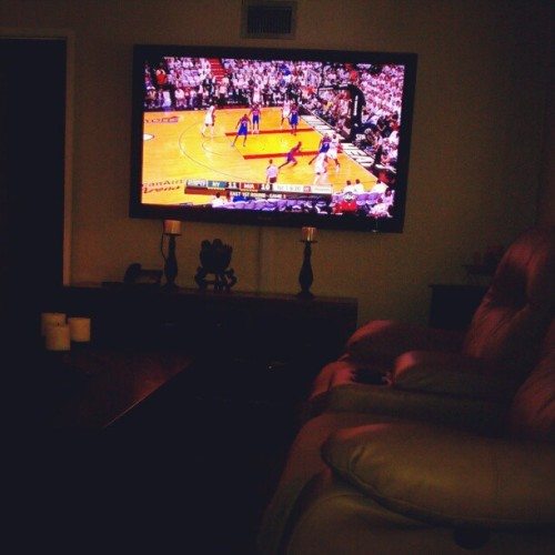 This is going to be a good series #Miami vs #NewYork (Taken with instagram)