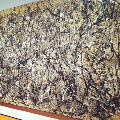 #jackson #pollock #nyc  #moma  (Taken with instagram)